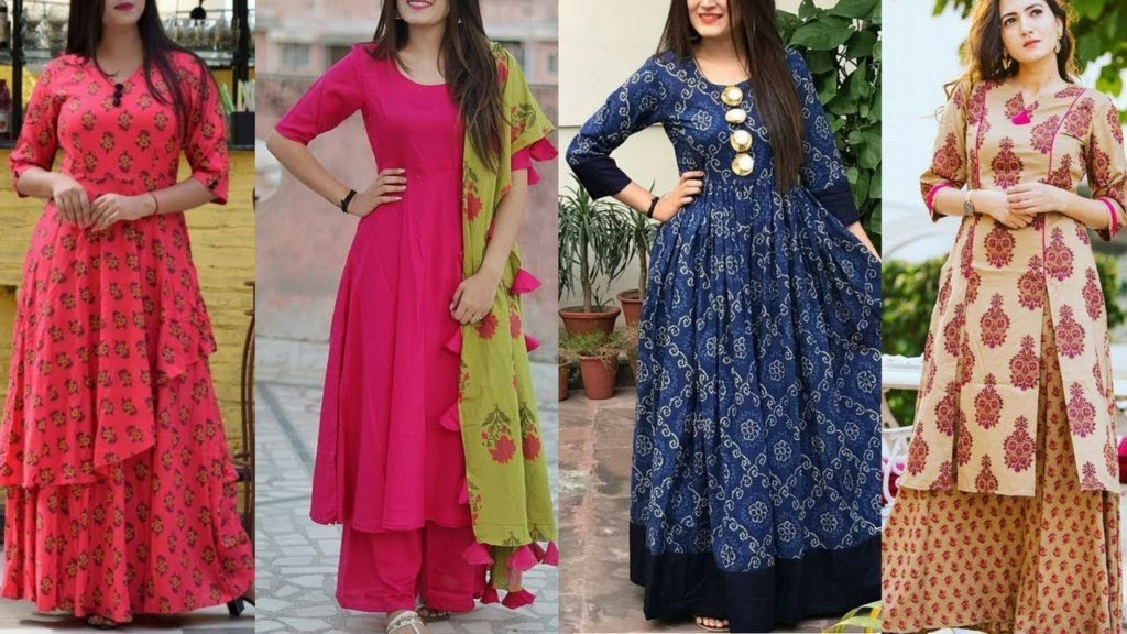 upgrade your style with long kurtis